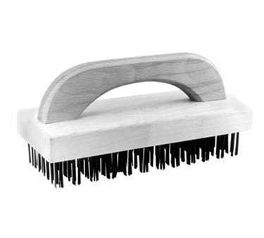 Brush, Flat Steel Bristle (4X9 )