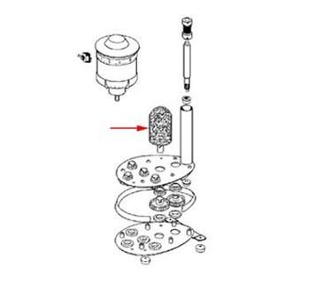 Franklin Machine Products  264-1017 Brush, Glasswasher (8-1/4L)