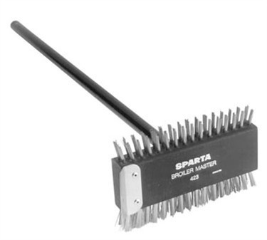 Brush, Grate (Steel, W/Hndl )