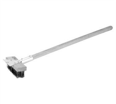 Brush, Grill (Rd S/S Bristle )