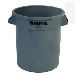 Brute Container, 10 Gallon, Gray