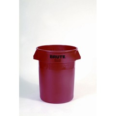 Brute Container, 44 Gallon, Red