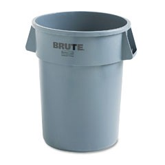 Brute Container, 55 Gallon, Gray