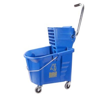 Bucket, Mop (W/Wringer, Blue )