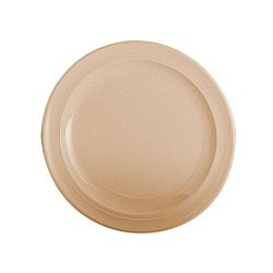 Thunder Group NS108T Nustone Tan Melamine Plate 8""