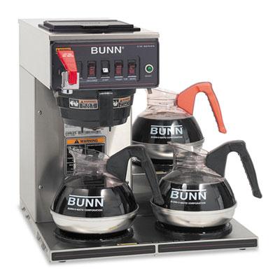 BUNN CWTF-3 Three Burner Automatic Coffee Brewer