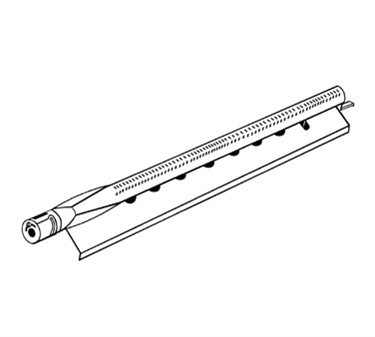 Franklin Machine Products  184-1006 Burner, Tube Steel (with Guard)