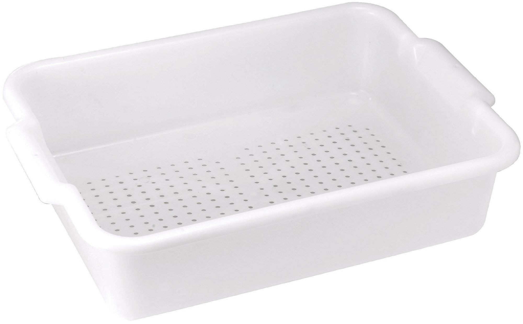 Winco PLP-5W White Perforated Bus Box