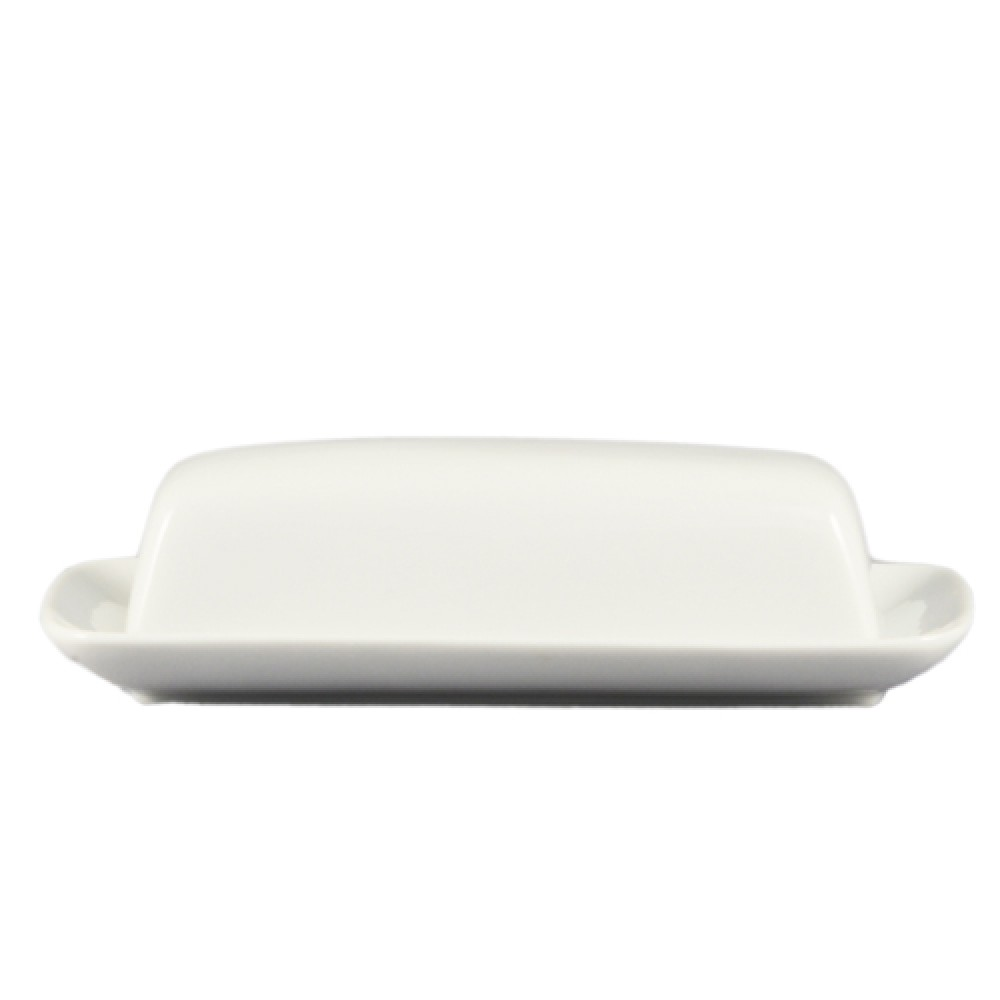 "CAC China BTD-8 Butter Dish 8"" with Cover"