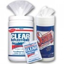 CLEAR REFLECTIONS Glass/Surface Wipes, Cloth, 6 x 8