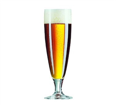 Cabernet 12-1/2 Oz. Footed Pilsner Glass - 8-3/4
