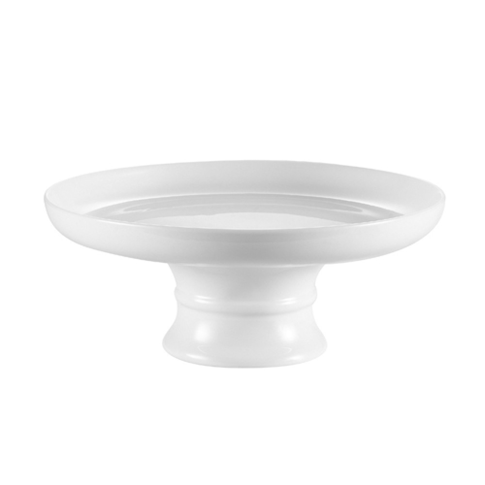 CAC China CKST-10C Cake Coupe Plate with Stand, 10""