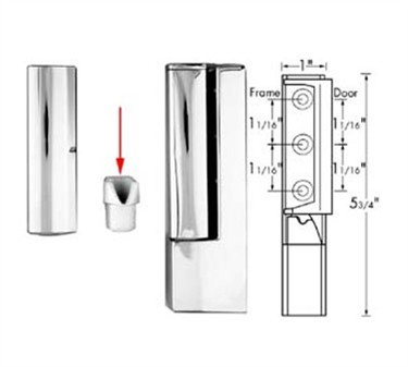 Franklin Machine Products  123-1187 Cam, Edgemount Hinge