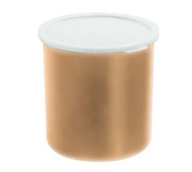 Franklin Machine Products  247-1066 Cambro 2.7 Qt. Beige Plastic Crock with Lid