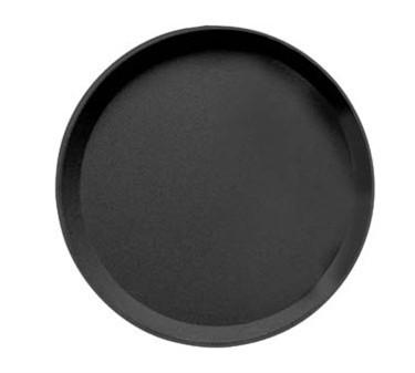 Cambro Camtread Round Non-Skid Black Tray - 16