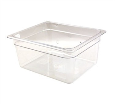 Franklin Machine Products  247-1183 Cambro Camwear Clear Half-Size Food Pan