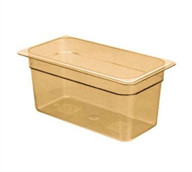 Franklin Machine Products  247-1060 Cambro Camwear Third-Size Amber Food Pan