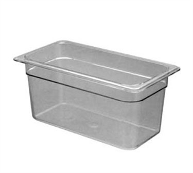 Franklin Machine Products  247-1056 Cambro Camwear Third-Size Clear Food Pan