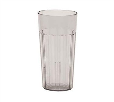 Franklin Machine Products  247-1033 Cambro Newport 22 oz. Clear Plastic Fluted Tumbler
