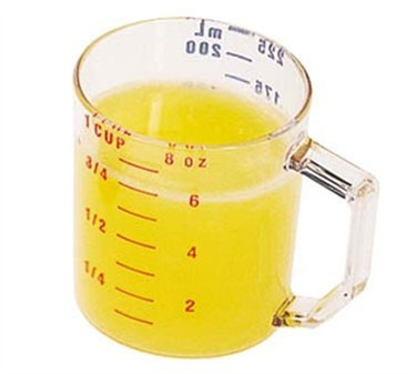 Camwear Clear Measuring Cup - 1 Cup Dry Measure