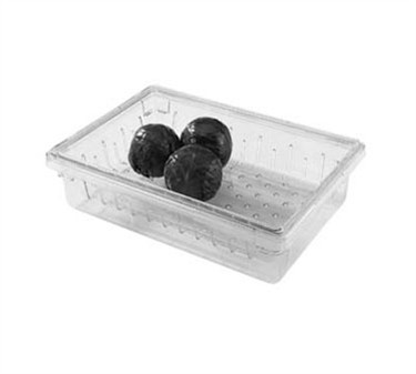 "Franklin Machine Products  247-1151 Camwear Clear Storage Box Colander 18"" x 26"" x 8"""