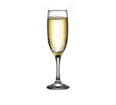 Capri Elemental 7-1/4 Oz. Glass Champagne Flute - 8-1/2