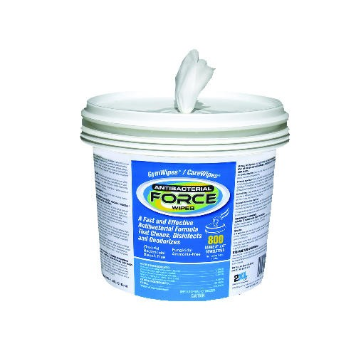 Care Wipes Antibacterial Plus, Bucket 600 Wipes