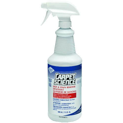 Carpet Science� Spot and Stain Remover, 32 Oz. Bottles