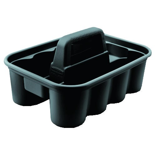 Deluxe 8-Compartment Carry Caddy, Black