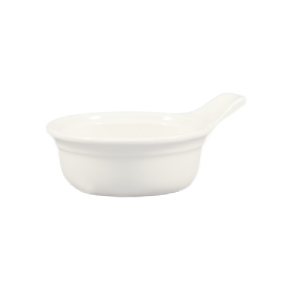 "CAC China CAS-15 Casserole with Handle 5-7/8"" x 5-7/8"""