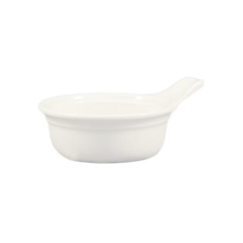 "CAC China CAS-7 Casserole with Handle 4-3/4"" x 1-3/4"""