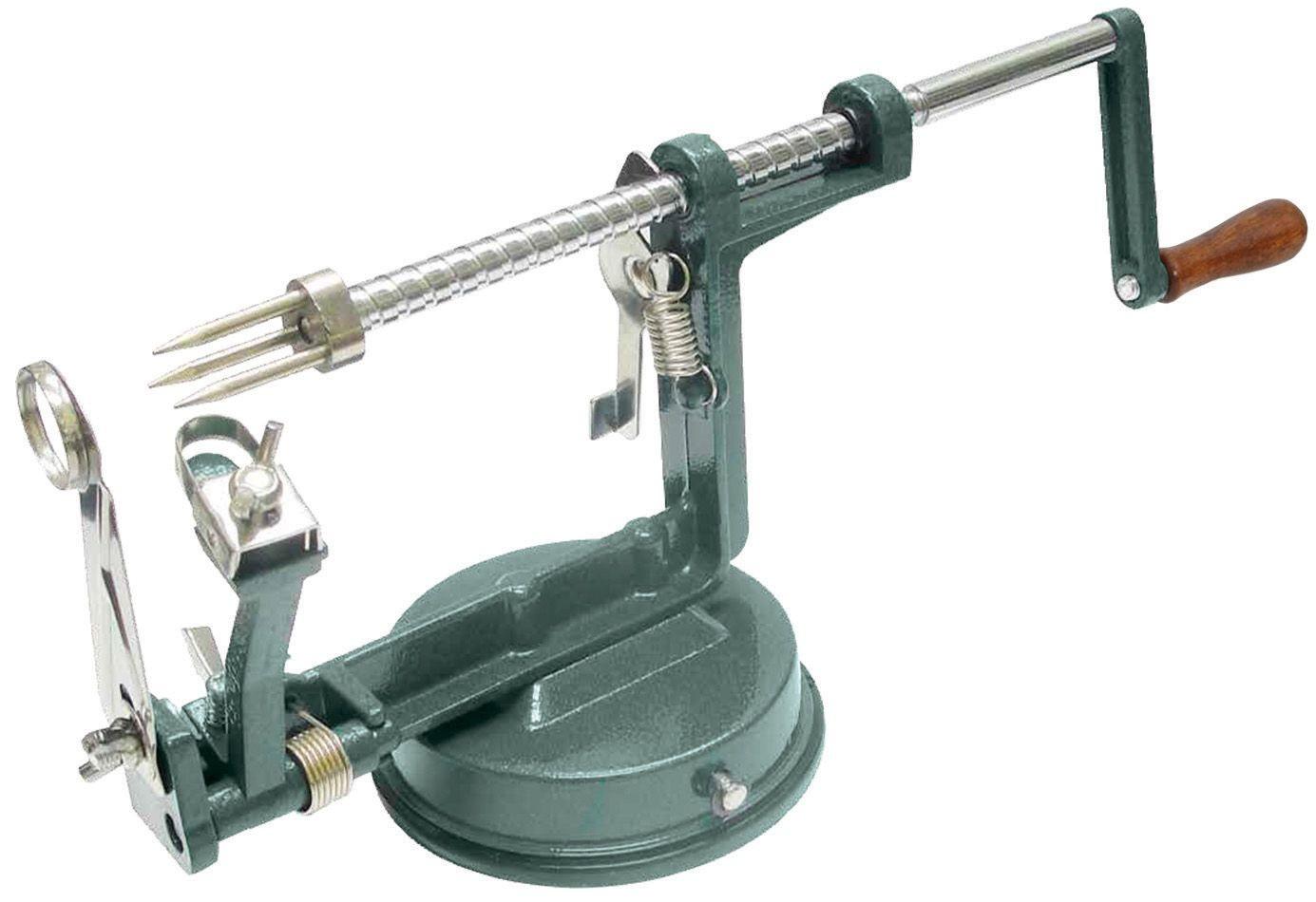 Winco AP-12 Cast Aluminum Manual Apple Peeler
