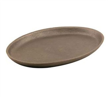 """Franklin Machine Products  133-1342 Cast Iron Oval Skillet 9-3/4"""" x 7-1/4"""""""