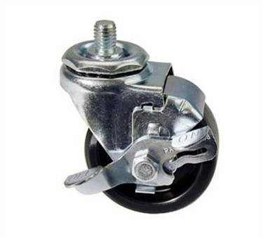 Franklin Machine Products  271-1016 Caster, 3 Stem (with Brake)