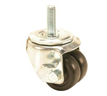 Franklin Machine Products  120-1183 Caster, Dual Wheel (2, 1/2-13 )