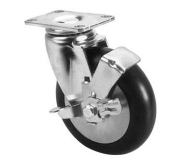 Franklin Machine Products  126-1600 Caster, Plate (5, Swivel )