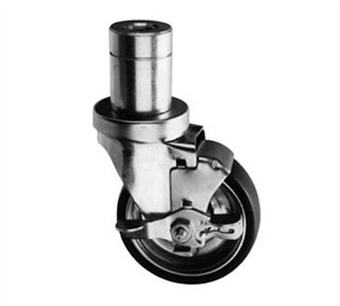 Franklin Machine Products  228-1223 Caster, Stem (4, Fem Thd, with Brk)