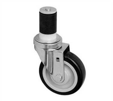 Franklin Machine Products  120-1072 Caster, Stem (4, Gray )