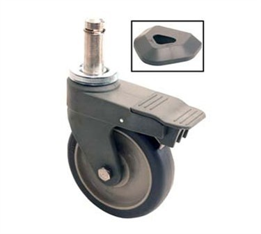 Franklin Machine Products  126-3220 Caster, Stem (5 Poly, Brake )