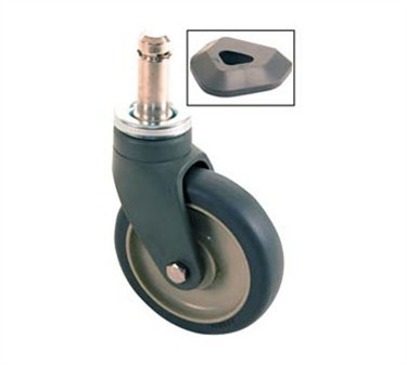 Caster, Stem (5 Poly, Swivel )