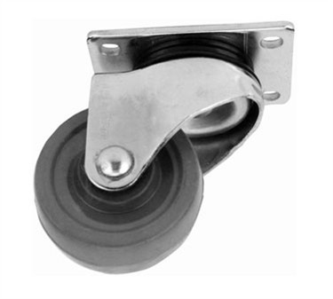 Caster, Swivel (3Dia, Plate Mt)