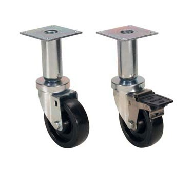 Franklin Machine Products  175-1134 Casters (4Wheel, 9Lift) (4 Pk)