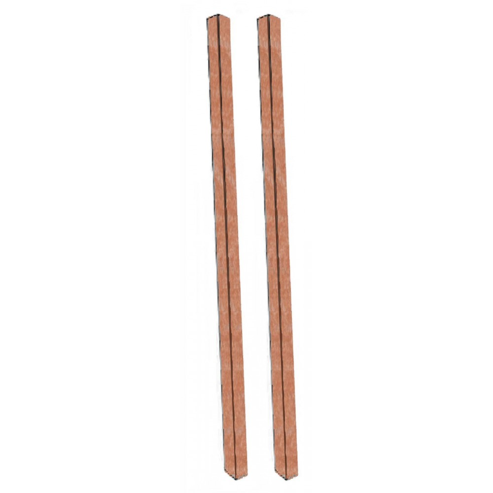 Aarco Products DPP-5 Cedar Plastic Lumber Post Set