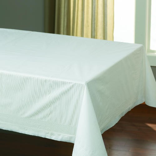 Cellutex Tablecover, Tissue/Poly Lined, 54 in x 108 in, White