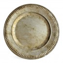 "Jay Import 1320376 ChargeIt! by Jay Beaded Antique Silver 14"" Charger Plate"