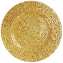 """Jay Import 1470341 ChargeIt! by Jay Glamour Gold 13"""" Charger Plate"""