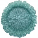 "Jay Companies 1470110-TQ Reef Turquoise 13"" Charger Plate"