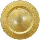 "Jay Companies 1470349 Sunray Gold 13"" Charger Plate"