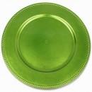 Charger Plate Lime Green Box of 24