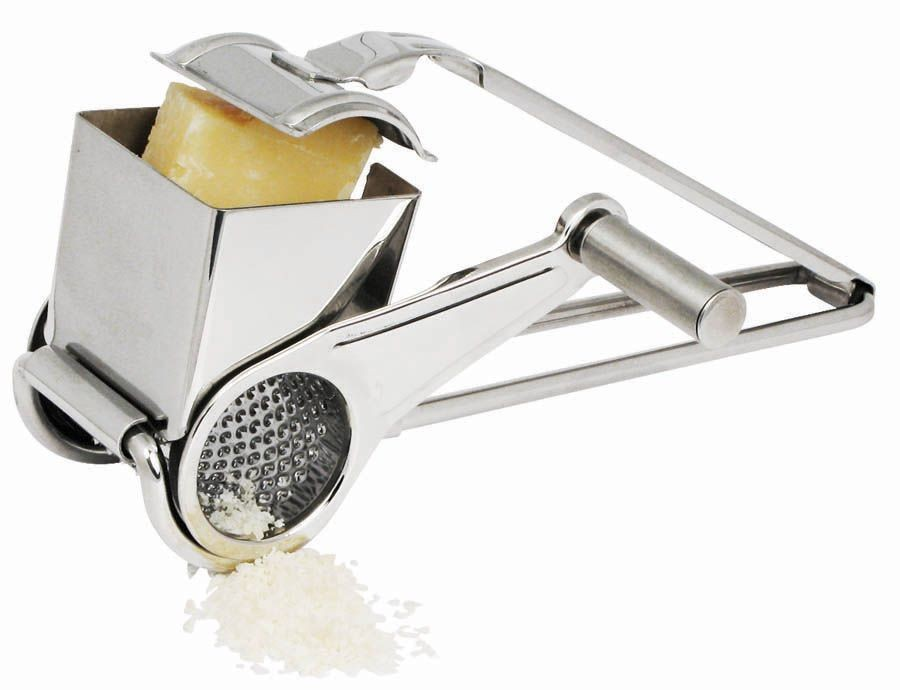 Winco GRTS-1 Cheese Grater with Cheese Drum